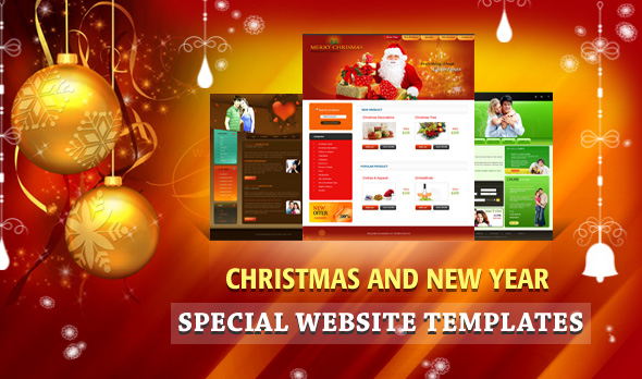 15 free christmas web element and website template djdesignerlab.